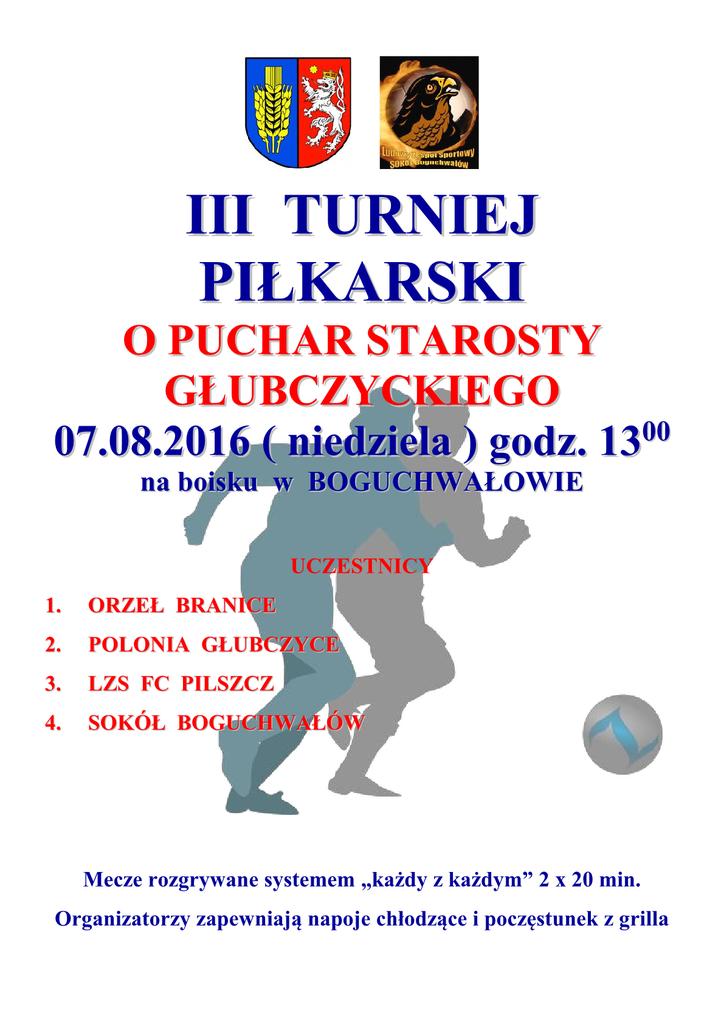 III Turniej Piłkarski - AFISZ1.png
